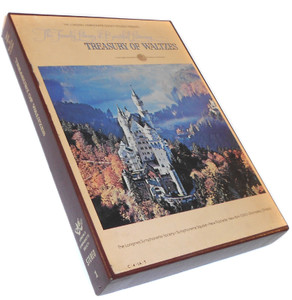 Treasury of Waltzes Longines Library of Beautiful Listening- Two 8 Track Tapes