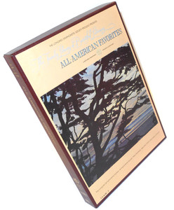 All-American Favorites Library of Beautiful Listening- Two 8 Track Tapes