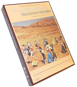 Folk Songs of the World Longines Library of Beautiful Listening- Two 8 Track Tapes