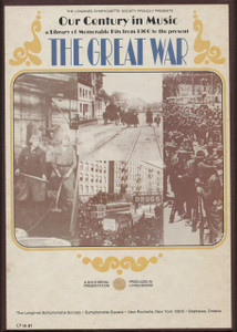 The Great War - Longines Our Century in Music Vol. 16 - Two 8 Track Tapes