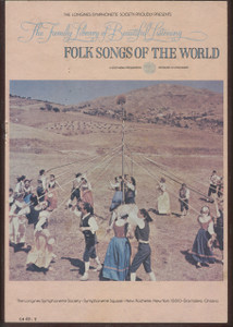 Folk Songs of the World - Longines Family Library of Beautiful Listening Vol. 5 - Two 8 Track Tapes