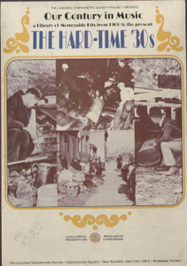 The Hard-Time '30s - Longines Our Century in Music Vol. 3 - Two 8 Track Tapes