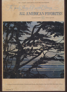 All-American Favorites - Longines Family Library of Beautiful Music Vol. 20 - Two 8 Track Tapes