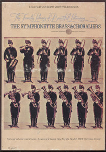 The Symphonette Brass & Choraliers - Longines Family Library of Beautiful Music Vol. 18 - Two 8 Track Tapes