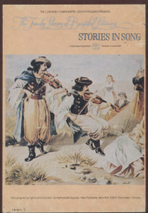 Stories in Song - Longines Family Library of Beautiful Music Vol. 13 - Two 8 Track Tapes