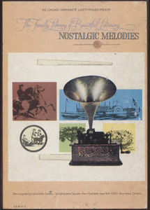 Nostalgic Memories - Longines Family Library of Beautiful Music Vol. 16 - Two 8 Track Tapes