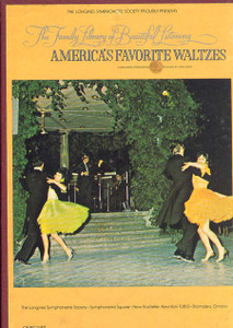 America's Favorite Waltzes The Family Library Of Beautiful Listening Vol. 12 - Two 8 Track Tapes