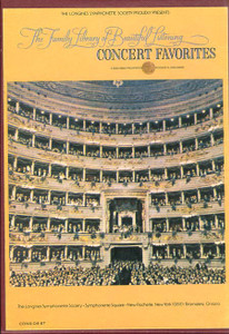 Concert Favorites The Family Library Of Beautiful Listening Vol. 4 - Two 8 Track Tapes