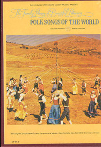 Folk Songs Of The World The Family Library Of Beautiful Listening Vol. 5 - Two 8 Track Tapes