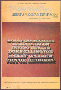 Great American Composers Part 2 - The Family Library Of Beautiful Listening Vol 8 - Two 8 Track Tapes