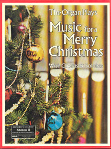 Reader's Digest The Organ Plays Music For A Merry Christmas - Three 8 Track Tapes