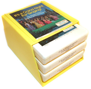 STARDUST VOICES It's a Grand Night for Singing - Three 8 Track Tapes