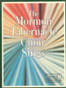Reader's Digest The Mormon Tabernacle Choir Sings - Three 8 Track Tapes