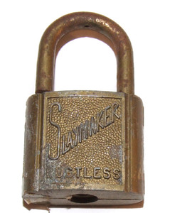 Old Slaymaker Rustless Padlock With Rust and No Key