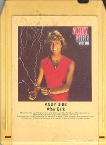 Andy Gibb: After Dark 8 track tape