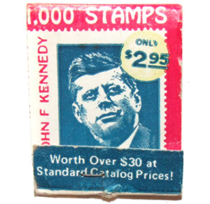 1000 Stamps for $2.95 Advertising Matchbook