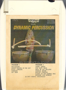 101 STRINGS PLUS DYNAMIC PERCUSSION: An Experience in Sound / Dynamic Sounds Quad 8 Track Tape