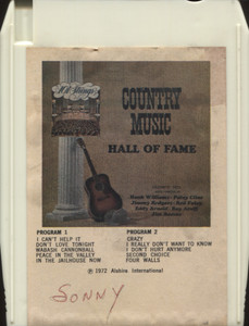 101 Strings: Country Music Hall of Fame Quad 8 Track Tape