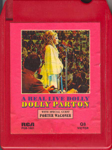 DOLLY PARTON: A Real Live Dolly Quad 8 Track Tape