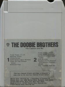 The Doobie Brothers: The Captain and Me Quad 8 Track Tape