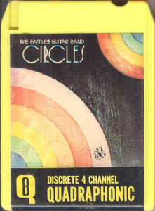 THE FAMLEY GUITAR BAND: Circles Quad 8 Track Tape