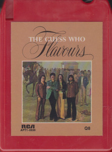 The Guess Who: Flavours Quad 8 Track Tape