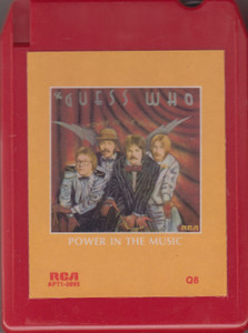 The Guess Who: Power in the Music  Quad 8 Track Tape