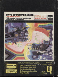 The Moody Blues: Days of Future Passed Quad 8 Track Tape
