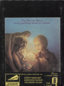 The Moody Blues: Every Good Boy Deserves Favour Quad 8 Track Tape