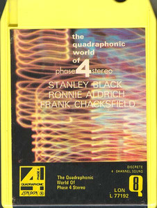 The Quadraphonic World of Phase 4 Stereo (Stanly Black, Ronnie Aldrich, Frank Chacksfield) Quad 8 Track Tape
