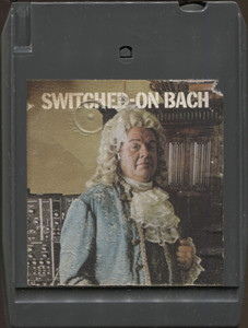 Walter Carlos: Switched-On Bach Quad 8 Track Tape