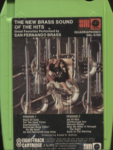 San Fernando Brass: The New Brass Sound of the Hits - Quad 8-Track Tape