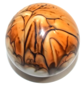 Vintage Swirled Lucite Gear Shifter Knob Handle Ball Unthreaded