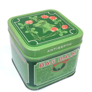 Vintage 10 Ounce Bag Balm Cattle Ointment Medicine Advertising Tin