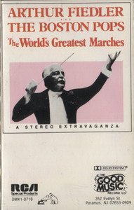 Arthur Fiedler & Boston Pops: World's Greatest Marches - Audio Cassette Tape