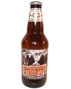 2002 Groundhog Brew Groundhog Day Straub Light Beer Bottle - Punxsutawney, PA