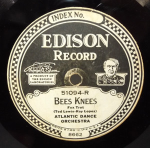 Atlantic Dance Orchestra: You are My Rain-Beau / Bees Knees - #51094 Edison Diamond Disc Record