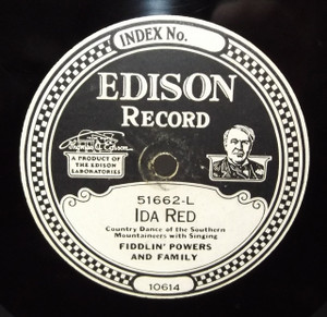 Fiddlin' Powers & Family: Old Joe Clark / Ida Red - #51662 Edison Diamond Disc