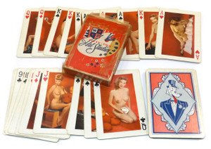 Vintage Full Deck Fifty-Two Art Studies Risque Nude Real Photo Playing Cards