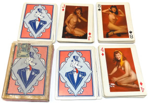 Vintage Fifty-Two Art Studies Risque Nude Real Photograph Pin-Up Playing Cards