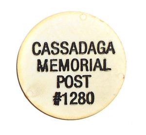 Vintage Soft Drink Token from American Legion Post 1280 - Cassadaga, NY