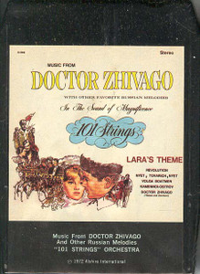 101 STRINGS ORCHESTRA: Music From Doctor Zhivago And Other Russian Melodies