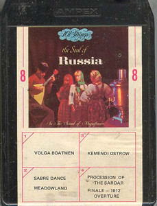 101 STRINGS: 101 Strings Play the Soul of Russia