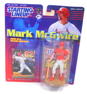 1999 Vintage Mark McGwire Home Run Record Breaker Starting Lineup Figure Unopened in Package