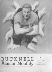 1939, October - The Bucknell Alumni Monthly College Magazine, Homecoming Football Issue