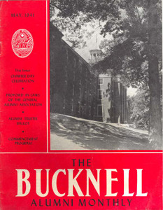 1941, May - The Bucknell Alumni Monthly College Magazine
