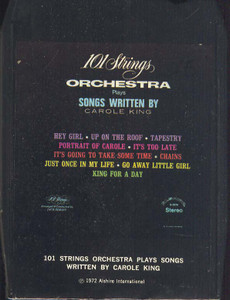 101 STRINGS: 101 Strings Orchestra Plays Songs Written by Carole King