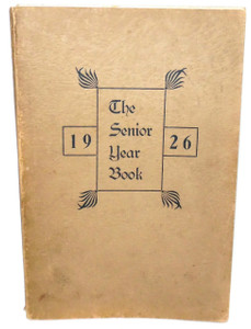 1926 The Senior Year Book, St. Marys, St. Mary's High School Yearbook - St. Marys, PA