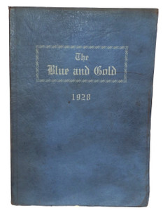 1928 The Blue and Gold, Derry Township High School Yearbook - Derry, PA