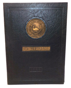 1929 The Blue and Gold, Derry Township High School Yearbook - Derry, PA